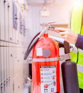 Certificação do Serviço de Manutenção de Extintores
