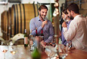 Vinificação de vinhos brancos e tintos